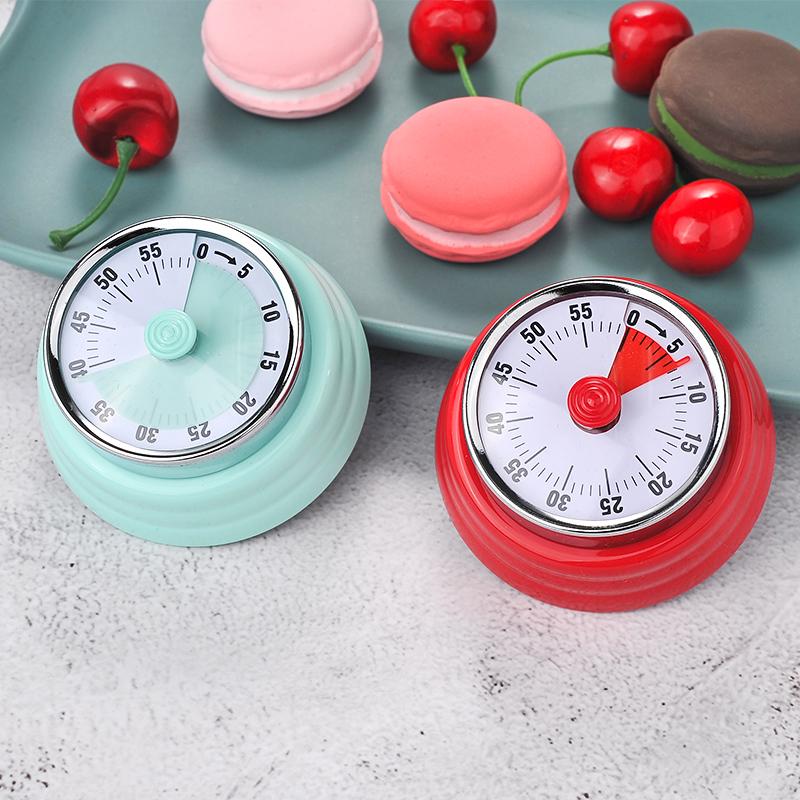厨房定时器提醒器机械式倒计时器学生学习时间管理闹钟家用番茄钟