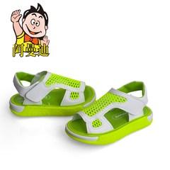 阿曼迪女童白色凉鞋夏季男童鞋儿童学步鞋时尚新款透气夏款沙滩鞋