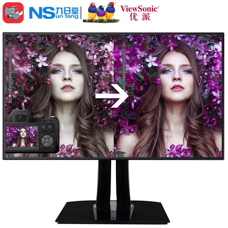 优派(ViewSonic)VP3268-4K 31.5英寸色彩管理 4k电脑显示器
