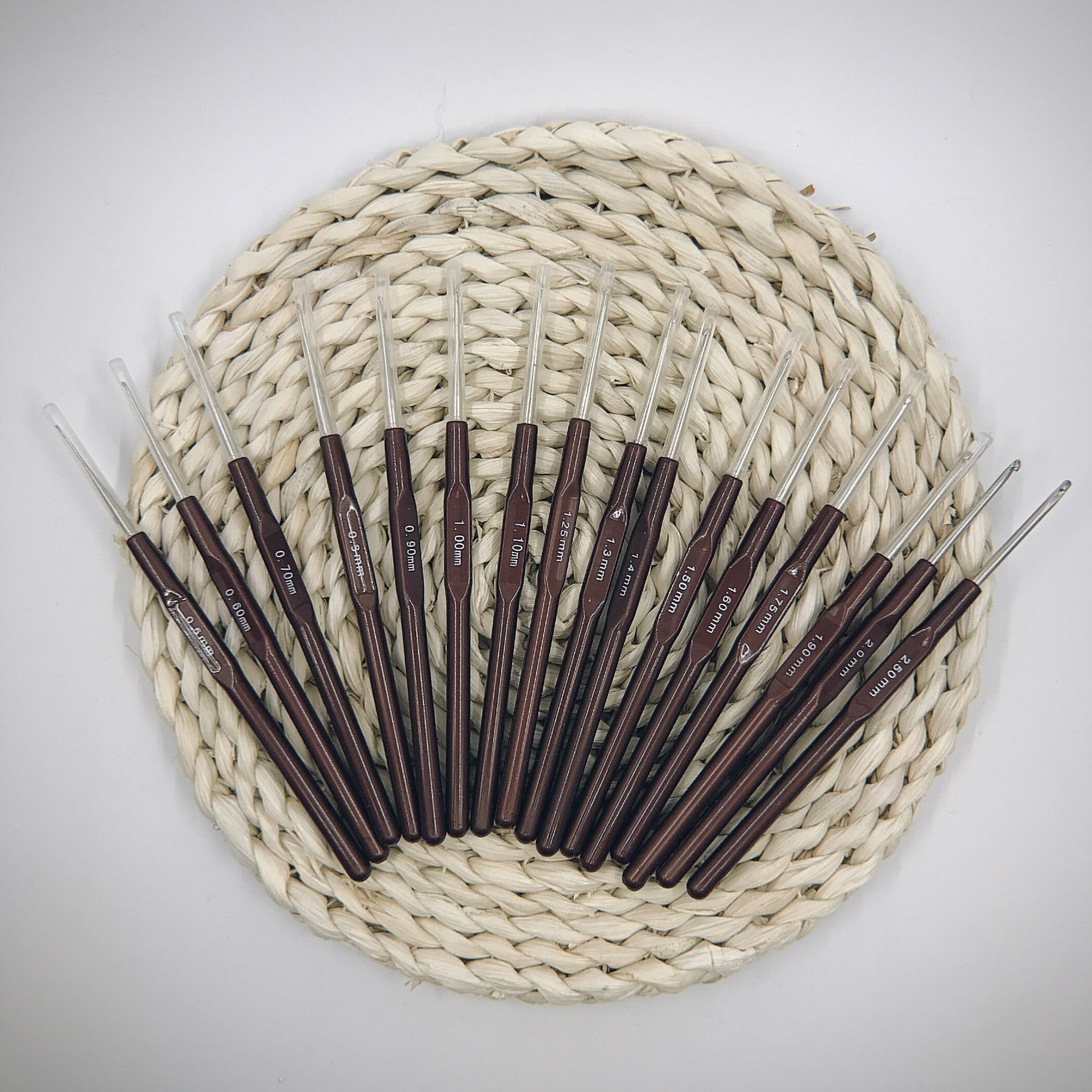 编织工具毛衣针钩针 笔式diy蕾丝细线爱尔兰钩编钩针