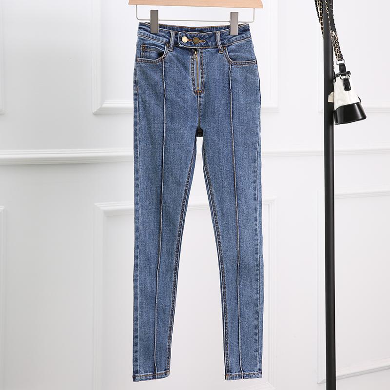 【孤码39元】女装韩版牛仔裤