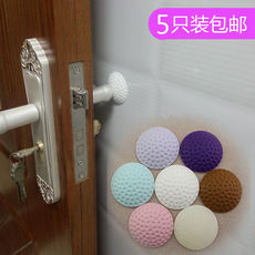 5 Pack New Silicone Wall Crash Pad Door Handle Crash Pad Door Crash Pad Crash Stick Door Door Stop Suction