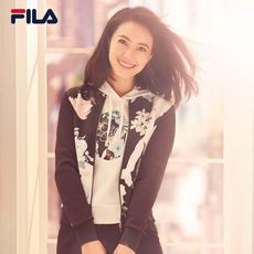 FILA Fila women's jacket high round with the same paragraph 2018 spring new knitted baseball uniform casual sports jacket female