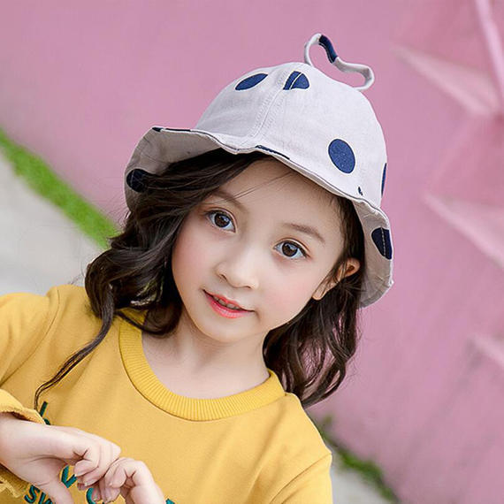 Children's hat sun hat 2-5 years old men and women baby visor fisherman basin hat autumn sunscreen child cap
