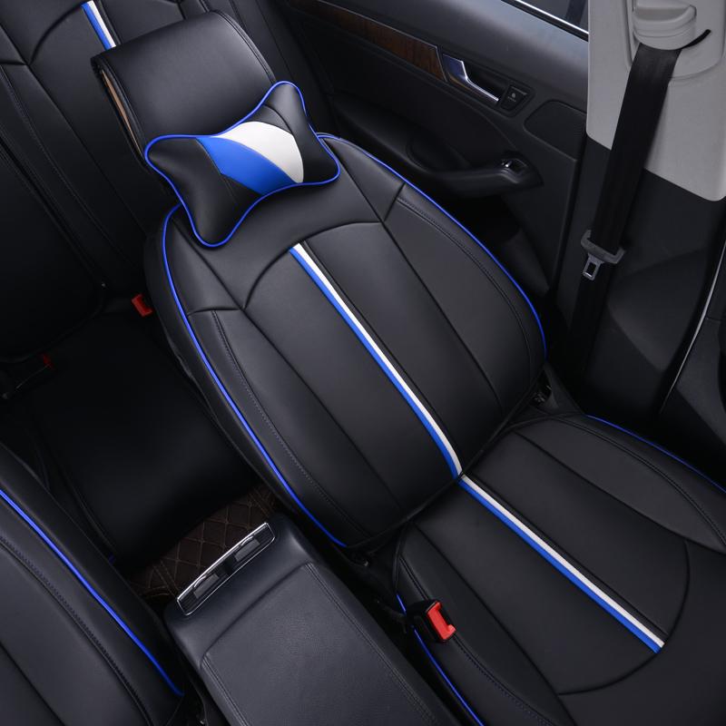 汽车坐垫Q3奥迪Q5大众途观L高尔夫7帕萨特polo君威A6四季全包座垫