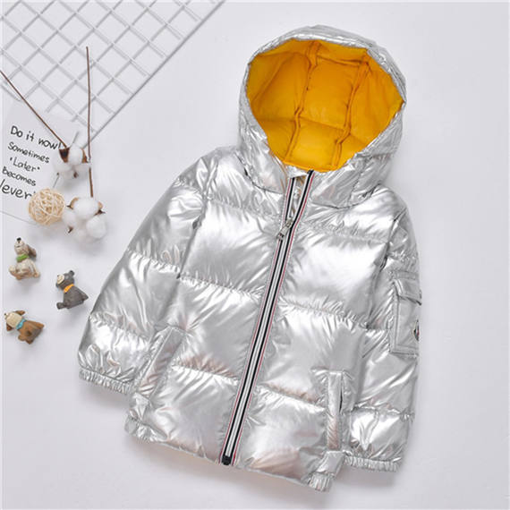 Baby space silver boy girl anti-season children's clothing female treasure male treasure baby child children down jacket tide clearance