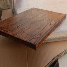 Custom-made old Elm Bay window sill shaped tabletop board bar board table sill sill board partition