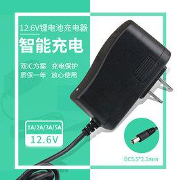 11.1V\12.6V锂电池充电器3串电池组聚合物电池充电器电流1A/2A
