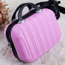 Luggage cute little suitcase mini handbag female makeup bag bags 14 inch