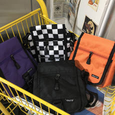 R°18 New Running Bags Street ulzzang Diagonal Four Color Casual Men and women Small Purse Mobile Bag