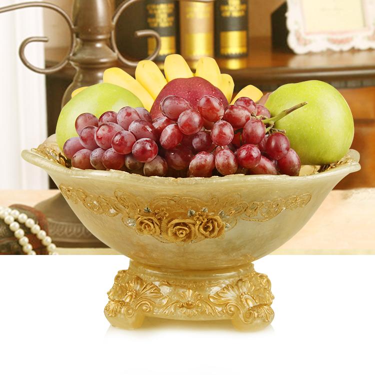 家用客厅水果盘欧式创意干果盘收纳盘子简约时尚家居装饰品摆件