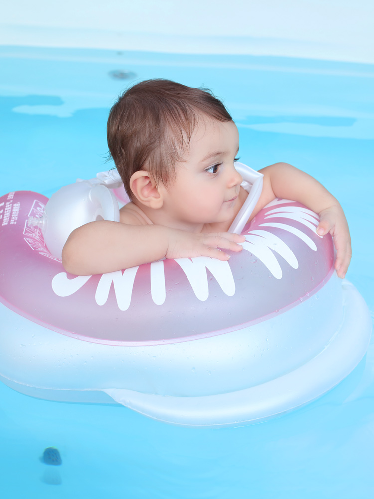 诺澳宝宝游泳圈儿童腋下圈小孩婴儿趴圈新生幼儿浮圈泳圈0-4岁
