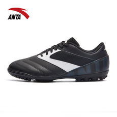 Anta football shoes men 2018 autumn and winter new leather surface wear training competition leather waterproof broken nails soccer shoes