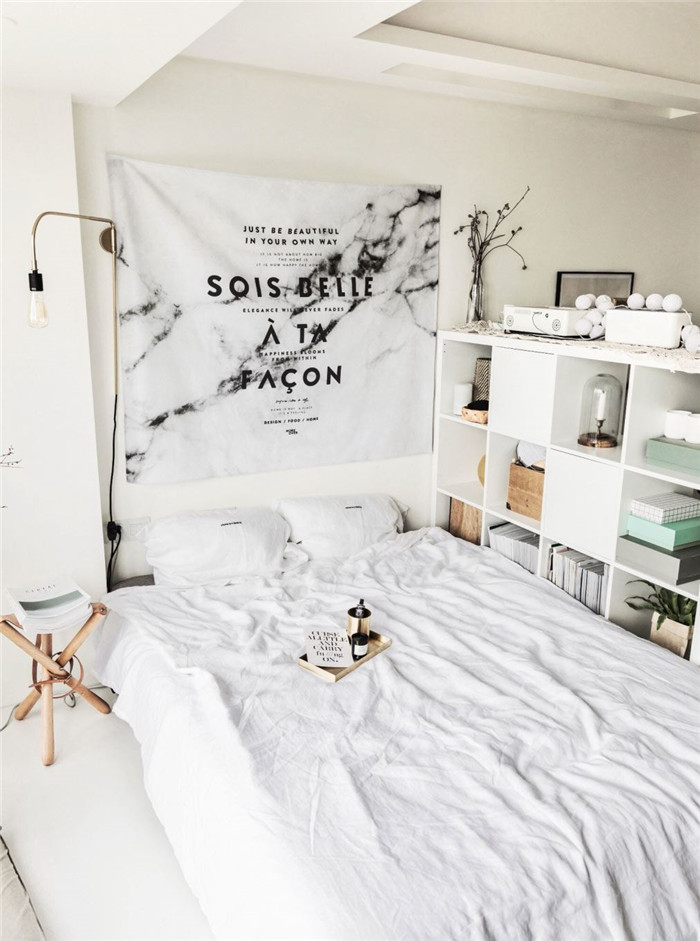 北欧挂毯ins拍照背景墙挂布床头装饰布艺术布艺画布壁挂壁毯墙毯