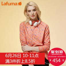France LAFUMA Ms. Le Feiye Outdoor Climbing Hiking Windproof Stretch Floral Long-sleeved T-shirt LFTS7CC32