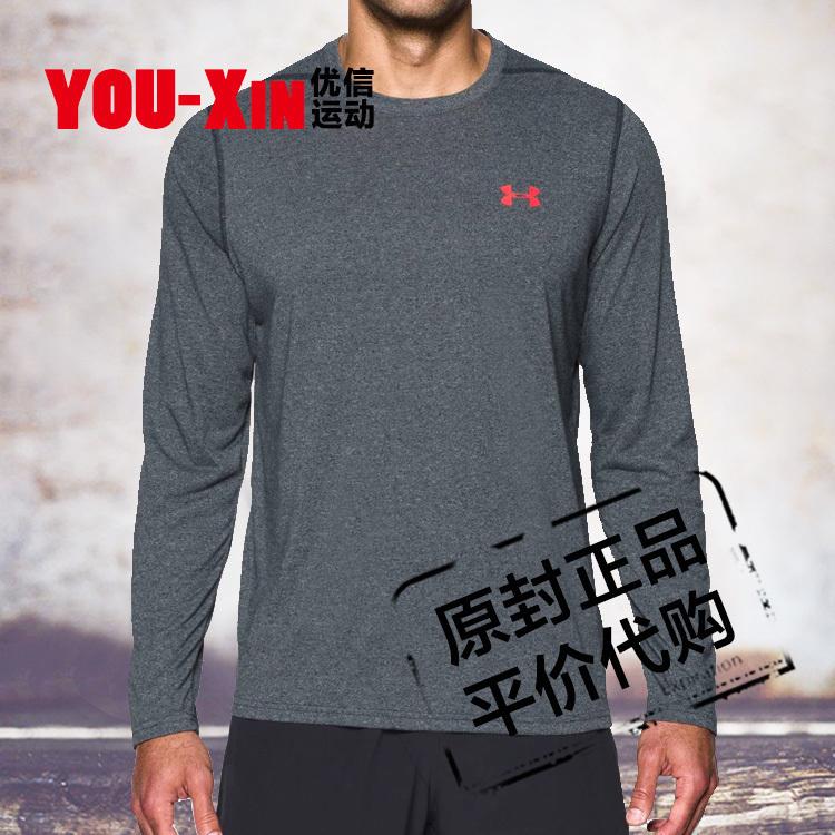 UA Threadborne安德玛男子秋运动长袖T恤 基础款 跑步T恤 1289609