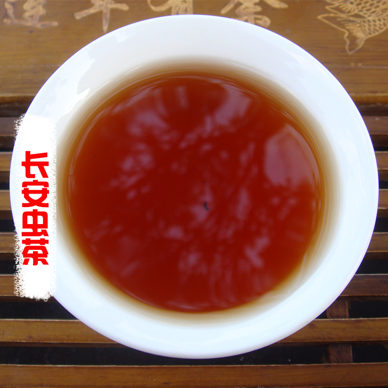湖南虫屎茶城步长安野生虫茶三叶海棠龙珠茶原生态陈年特级养生茶图片