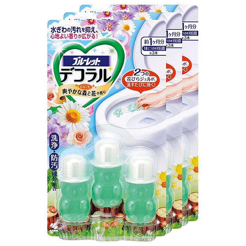马桶凝胶花小林制药日本马桶小花开花凝胶清洁厕所洁厕剂去污除臭图片