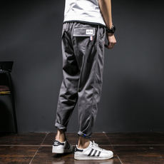 Winter Men's Pants Korean Waves Overalls Men's Casual Pants Youth Slim Pants