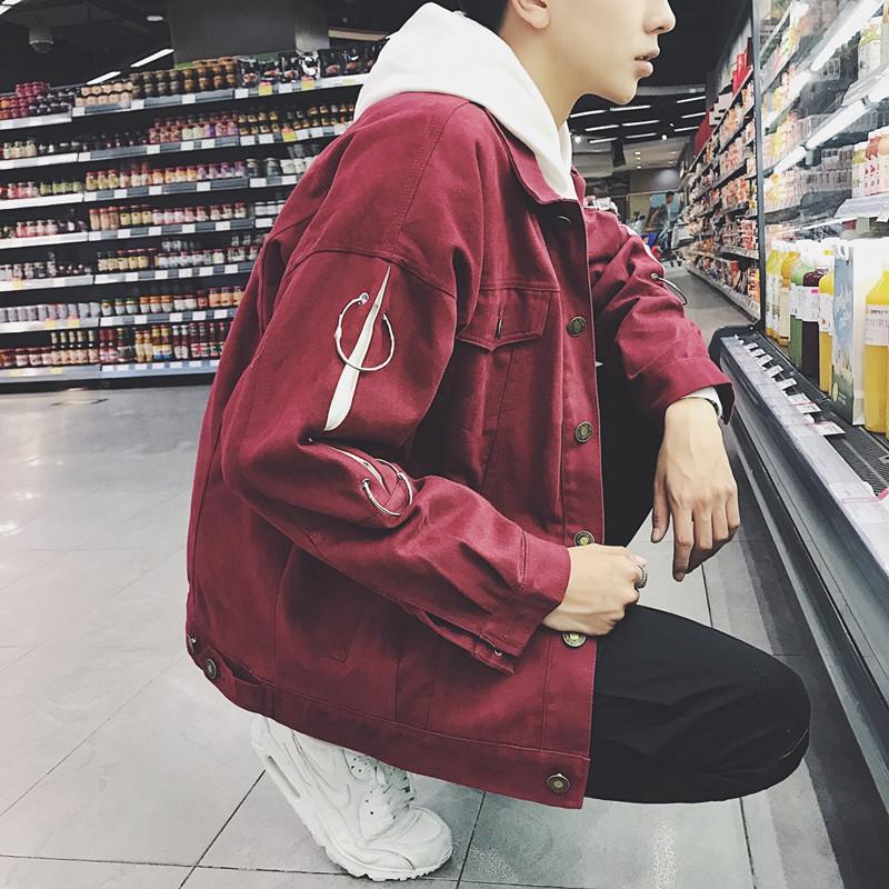 奥色OHSARE2017秋季港风夹克男韩版潮流学生帅气嘻哈休闲长袖外套