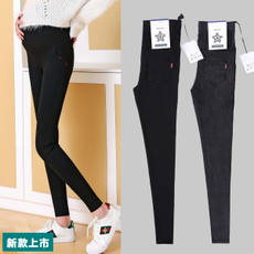 Pregnant women leggings spring and autumn thin section 2018 new pregnant women pants summer summer spring tide MOM jeans spring