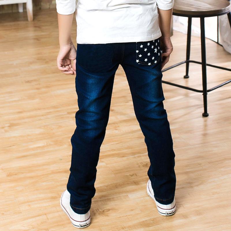 尤尤小笛 男童牛仔裤新款中大童裤子儿童春秋薄款长裤12-15岁直筒