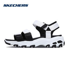 Skechers Skechers Shoes Dlites Thick-soled Sandals Velcro Casual Shoes 31514
