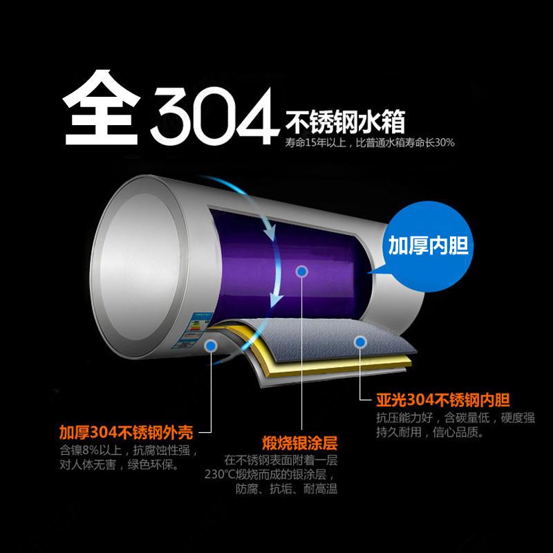 年年福 全智能304不锈钢太阳能热水器 紫金管12cm超宽支架包邮