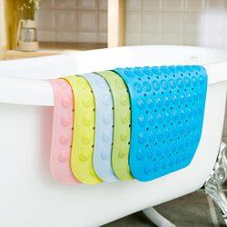 环保无味浴室防滑垫卫生间家用浴缸卫浴大号吸盘防水淋浴洗澡地垫