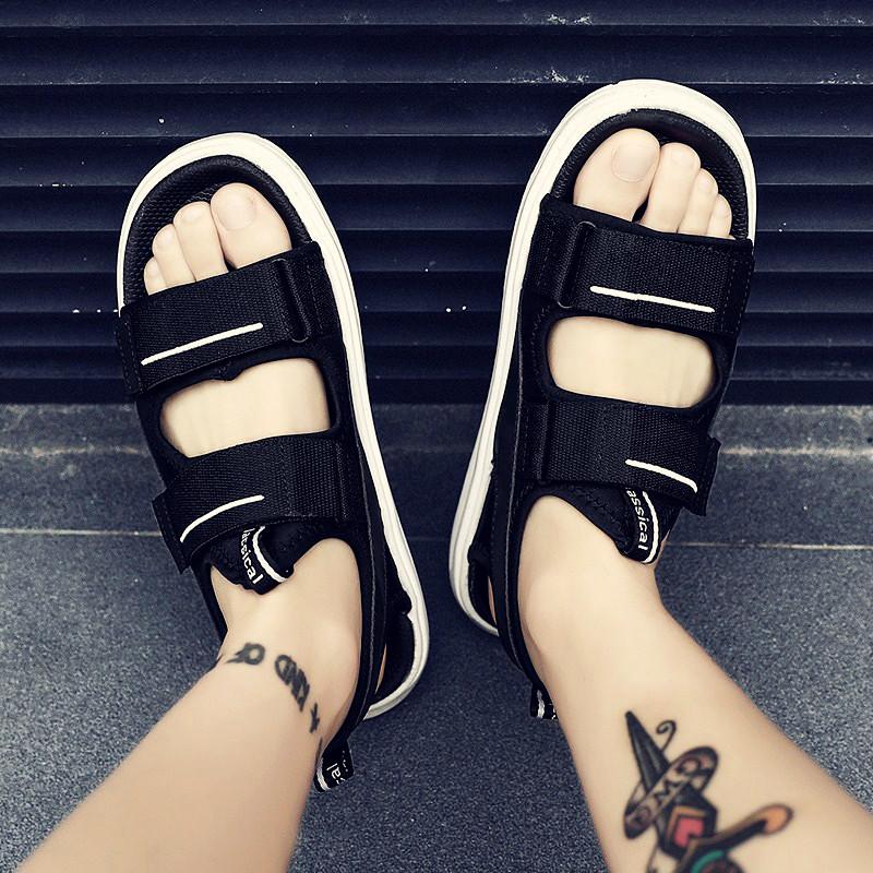 拖鞋男潮流韩版夏季凉鞋男室外沙滩鞋男士凉鞋2019新款个性凉拖男
