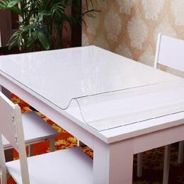 包邮透明软质玻璃水晶垫板磨砂台布pvc防水桌布餐桌垫