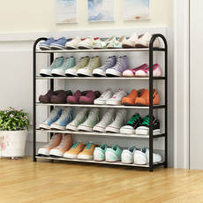 Shoe rack simple household economic dormitory door dustproof storage shoe cabinet multi-layer assembly shoes shelf space