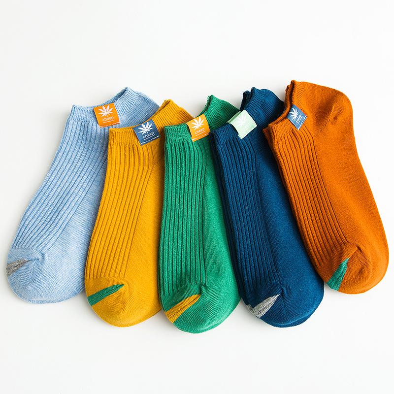 南极人袜子男士短袜夏季浅口船袜薄款夏天低帮纯棉防臭吸汗棉袜潮