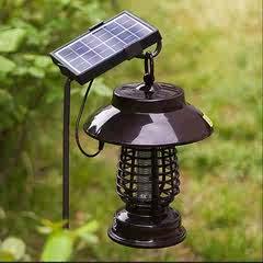 亿丰太阳能灭蚊灯户外防水全自动庭院灯花园农用驱蚊杀虫捕蚊神器