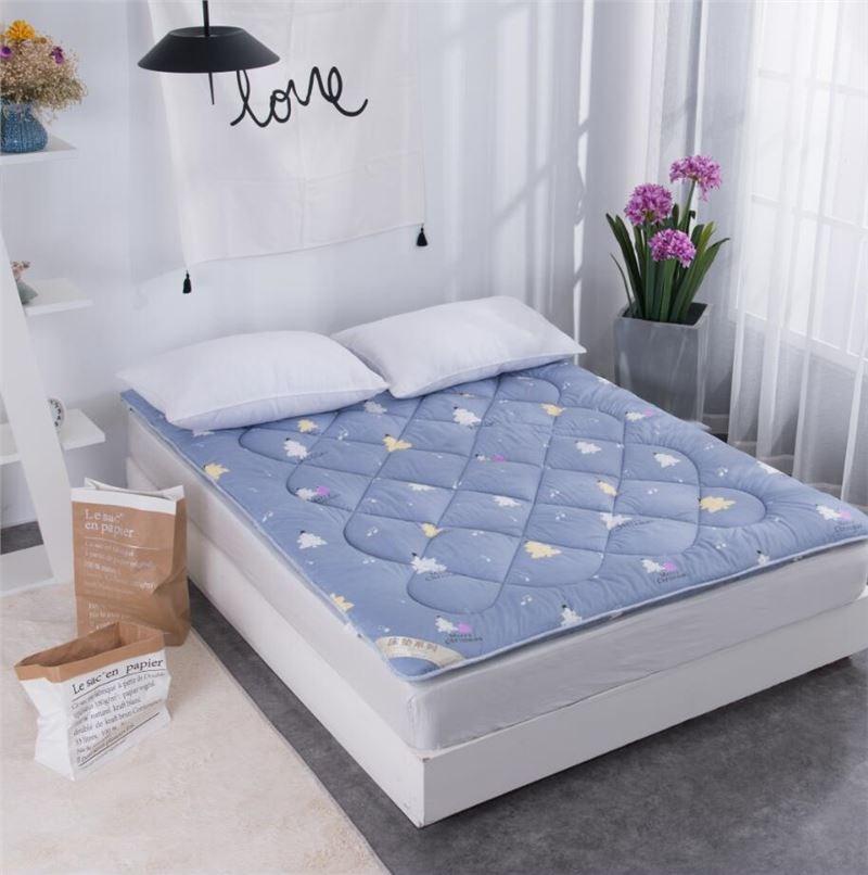 床垫软垫出租屋海绵软垫床垫加厚双人床垫1.5m加大夏天老人