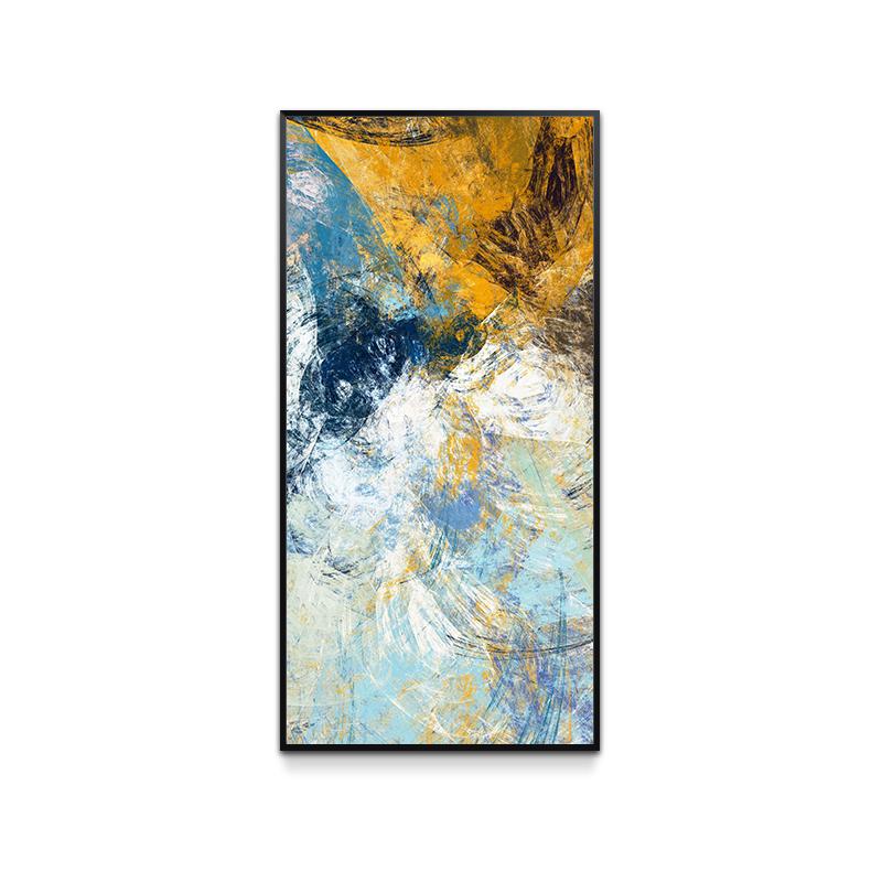 现代简约玄关过道装饰画竖版客厅抽象壁画墙画走廊个性创意挂画图片