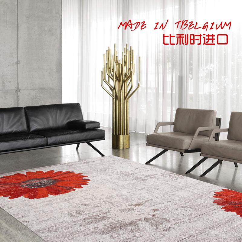 【懒猫家居】新中式禅意后现代客厅沙发地毯卧室北欧轻奢茶几地垫图片