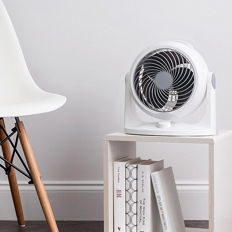 日本爱丽思IRIS空气循环扇家用静音空气对流换气台式扇涡轮电风扇