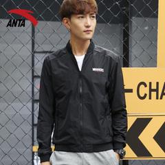 安踏男装外套2018春季新款长袖棒球服时尚运动服单夹克男15737645