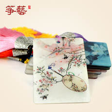 Guzheng Nails Receiving Board Nails Professional Receiving Cartoon Tassel Child Adult Guzheng Nail winding cards