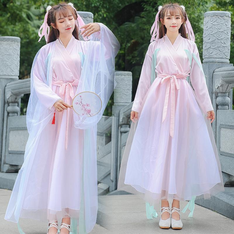 三生三世十里桃花白浅古装离人愁日常仙女装凉凉舞古筝表演汉服装