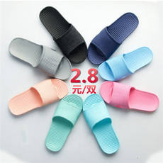 Bathroom cheap slippers home indoor light non-slip hotel hotel shower sandals and slippers 1-3 yuan wholesale summer