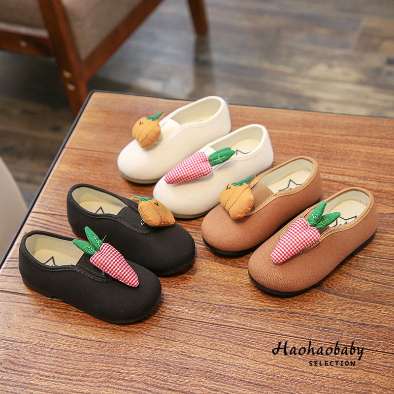 春季韩版儿童鞋子男童布鞋2软底1-6岁小孩3休闲鞋4女童公主鞋单鞋