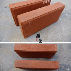 Sintered brick clay brick red brick exterior wall road brick landscape garden sidewalk paving water permeable brick floor tiles