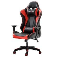 舒客艺家 电竞椅 电脑椅主播椅家用游戏座椅办公椅子 转椅 红黑撞