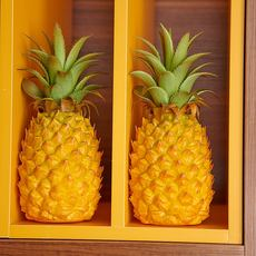 Simulation fruit pineapple pineapple fruit and vegetable model props decoration home model room cabinet decoration recommended