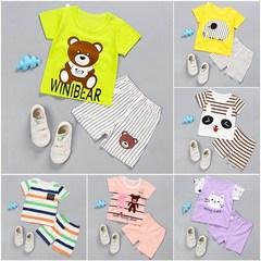 男童装夏款短袖套装婴儿童小孩衣服宝宝短装0-1-2岁短裤3潮男女童