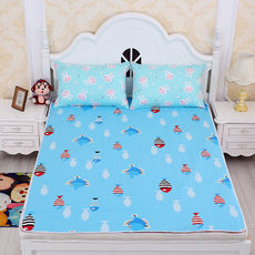 Oversized children newborn baby cotton insulation pad adult elderly diaper waterproof sheets care mattress washable