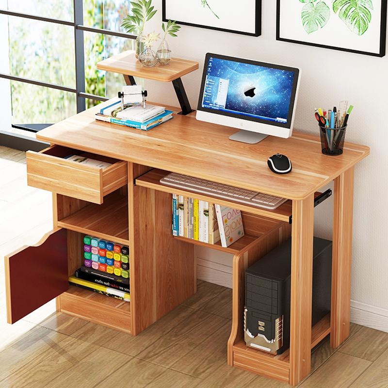简易电脑桌子台式家用简约现代笔记本电脑桌办公桌书桌