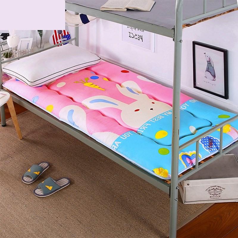 大学生加厚竹炭床垫900.8x1.9*2/1米1.2m1.3寝室0.9上下铺宿舍
